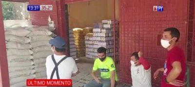 Violento atraco en comercio de Paraguarí
