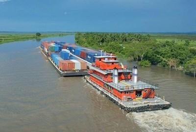 MOPC gastará G 128.800 en dragado para mantener navegabilidad del río Paraguay
