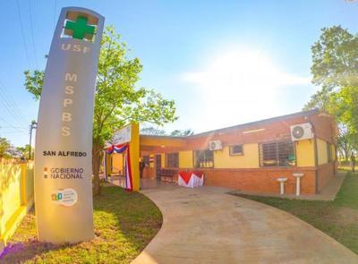 Gobierno inauguró 2 nuevas Unidades de Salud Familiar en San Pedro