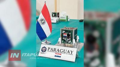 EL PRIMER SATÉLITE PARAGUAYO FUE PRESENTADO EN JAPÓN