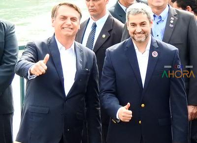 Bolsonaro le pidió tiempo a Abdo para la reapertura de frontera para ajustar detalles, afirman
