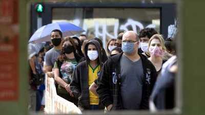 Más de 32.000 nuevos contagios de COVID-19 en Brasil en la última jornada
