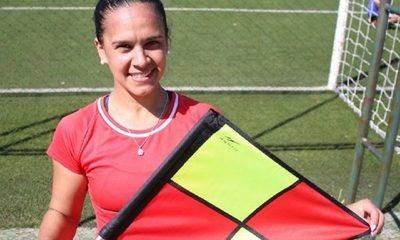 Nancy Fernández, la primera jueza de línea en Primera División