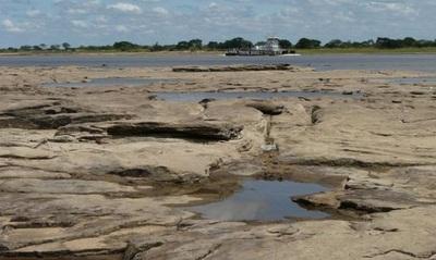 Bajante del río no es consecuencia del cambio climático, afirman