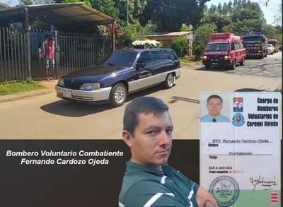 Último adiós a bombero voluntario – Prensa 5