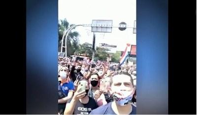"""""""Pedimos a Dios que no haya contagio masivo luego de estas manifestaciones en CDE"""""""