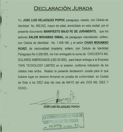 """Diputado LIBERAL intermedio para """"BLANQUEAR"""" estafador y lavador de dinero"""