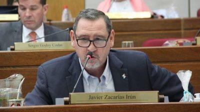 Presentan pedido de expulsión de Zacarías Irún