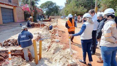 Desde Essap aseguran arreglar las calles tras los trabajos en cañerías