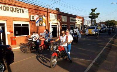 Con una caravana con la Virgen de la Merced piden libertad de secuestrados
