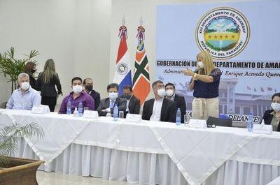 Presentan protocolo para la apertura de frontera en los departamentos de Amambay y Canindejú