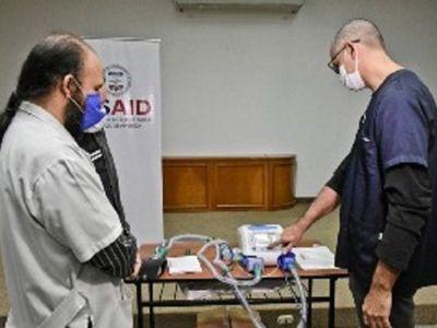 Paraguay recibe nueva donación de 30 respiradores de Estados Unidos
