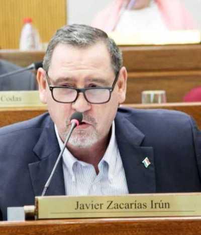 Solicitan pérdida de investidura de Zacarías Irún