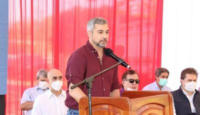 Mario Abdo ironiza con futuro de Itaipú