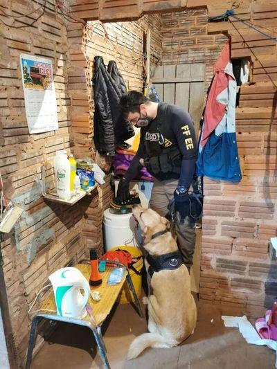 SENAD anula foco de distribución de crack en Cambyretã