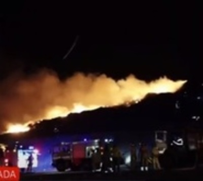 Cateura arde en llamas