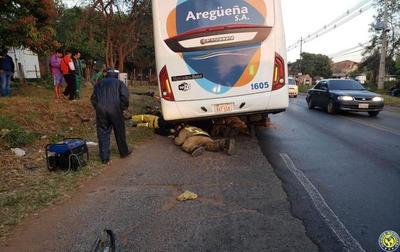 Fiscalía imputa a colectivero por fatal accidente •