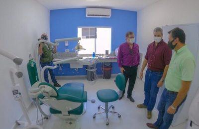 Inauguran mejoras en salud en San Pedro