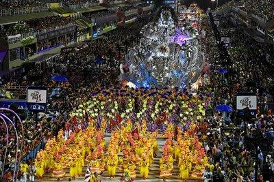 El carnaval de Río de Janeiro fue suspendido a causa de la pandemia