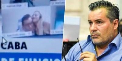 Renunció el diputado argentino que protagonizó un escándalo sexual en plena sesión