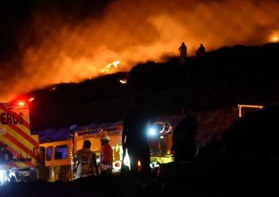 Se reaviva el fuego en Cateura