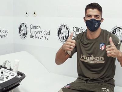 Suárez pasa las pruebas médicas en el Atlético de Madrid