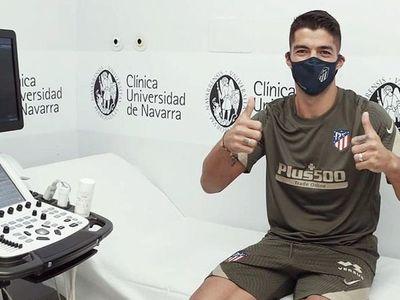 Atlético Madrid presentó oficialmente a Luis Suárez