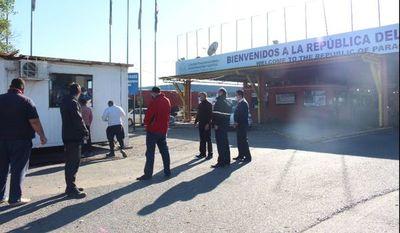 Según Cancillería, no habría trabas para cruce de camiones hacia la Argentina