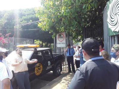 Comerciantes se manifiestan para pedir reactivación económica en Ayolas