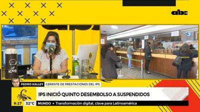 IPS inició quinto desembolso a suspendidos