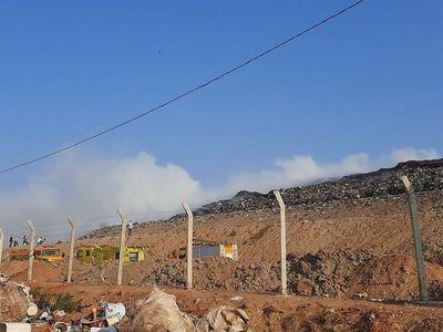 Bomberos controlan incendio en vertedero Cateura
