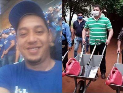 AUDIO: El diputado Juancho Acosta se vendió por una carretilla a Marito, dice Blas Martínez