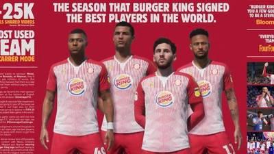 FIFA 2020: La estrategia de Burger King para que las estrellas lucieran su marca sin pagarle a EA Sports
