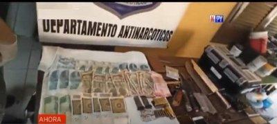 Detienen a presunto microtraficante en Fernando de la Mora