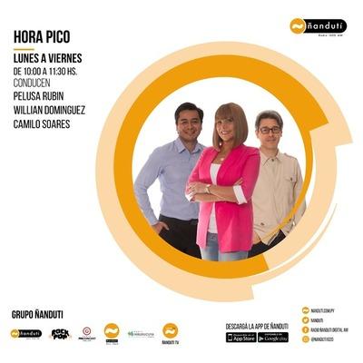 Hora pico con Willian Domínguez y Camilo Soares