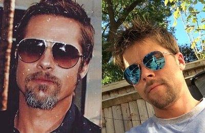 Crónica / Emañami al albañil que es el doble de Brad Pitt