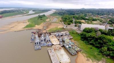 Llaman a licitación para la elaboración de dragados ante la preocupante baja del río Paraguay