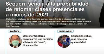 La Nación / LN PM: Las noticias más relevantes de la siesta del 25 de setiembre