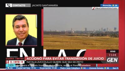 HOY / Abogado Jacinto Santamaría, defensor legal de la exviceministra de Tributación, Marta González