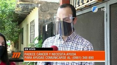 Joven con cáncer solicita ayuda ciudadana para pagar costoso tratamiento