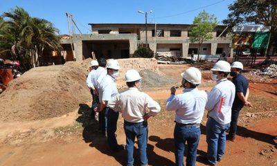 Obras de USF avanzan rápidamente en Alto Paraná