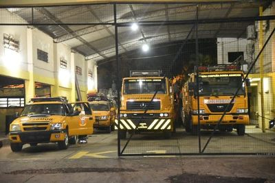 """Bomberos denuncian a Municipalidad de Asunción por falta de desembolso del presupuesto: """"No contamos con recursos"""""""