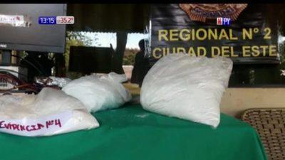 Pdte Franco: Desmantelan laboratorio de cocaína