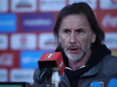 Ricardo Gareca da lista de convocados de Perú