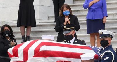 El Congreso de EE.UU. rinde el máximo homenaje póstumo a la jueza Ginsburg