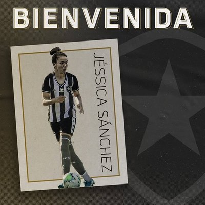 Como una 'gloriosa', Jéssica Sánchez fue presentada en el Botafogo
