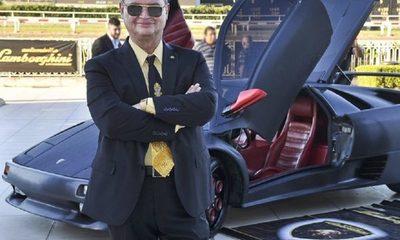 """El día que un embustero vendió en Palacio de López el Lamborghini """"made in Paraguay"""""""