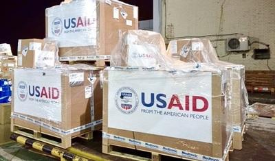 Paraguay recibe 30 respiradores más donados por EEUU