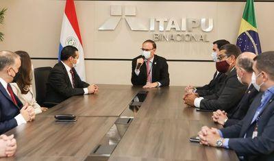 El presidente de ANDE asumió como consejero de Itaipú