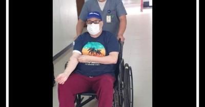 """La Nación / """"Payo"""" Cubas anuncia alta médica y que tras recuperación luchará por volver al Senado"""